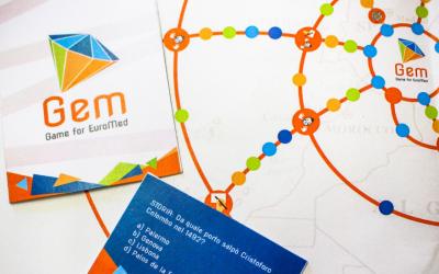 GEM, a board game for intercultural citizenship